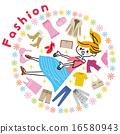 時髦 時尚 流行 16580943