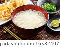 烏冬面 烹調的 麵條 16582407