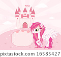 Fairy tale theme background or template with place for text 16585427
