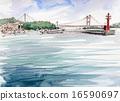 Shimotsui Port Seto ทะเลน้ำทะเลร่าง 16590697