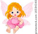 Cute Baby Fairy 16594340