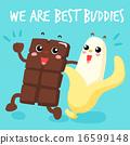 chocolate, buddies, best 16599148
