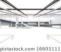 白色機場大廳 16603111