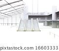 白色機場大廳 16603333
