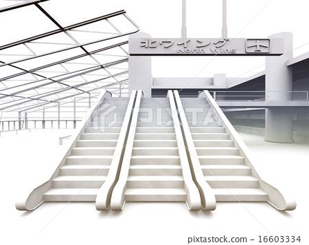 白色機場大廳 16603334