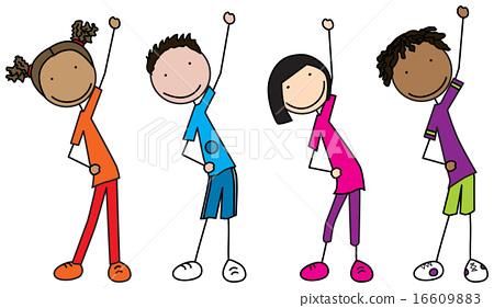 Happy kids 16609883