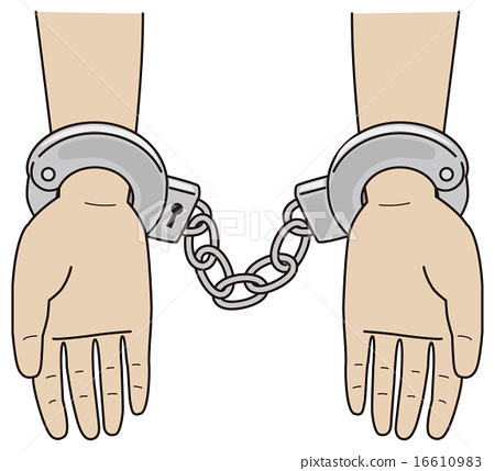 Person who can put handcuffs 16610983