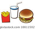 fast food fast-food 16611502