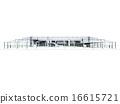 白色機場大廳 16615721