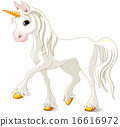 Beautiful White Unicorn 16616972