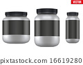 Mockup Sport Nutrition Container. Whey Protein 16619280