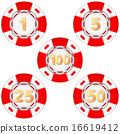 赌博 薯片 一组 16619412