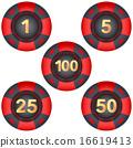 赌博 薯片 一组 16619413