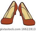 Classic red pumps 16622813