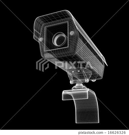 CCTV security camera 16626326
