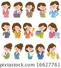 图标 女人 女性 16627761
