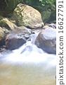 瀑布 深 自然 16627791