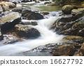 瀑布 深 自然 16627792