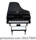 大鋼琴 器械 計算機圖形圖像 16627880
