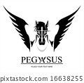 Pegasus Horse Head 16638255