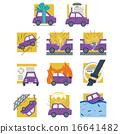 auto, vector, insurance 16641482