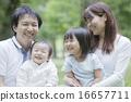 和家人一起野餐 16657711