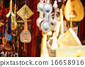 Selection of traditional musical instruments on Moroccan market 16658916