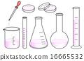實驗室儀器設置 - 粉紅色 16665532