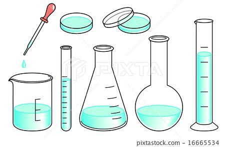 Laboratory instrument set - green 16665534