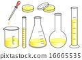 實驗室儀器設置 - 黃色 16665535