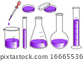 實驗室儀器設置 - 紫色 16665536