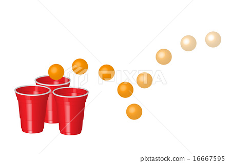 red party cup with ping pong ball  party alcohol stock clipart exercise girls clipart exercise pictures