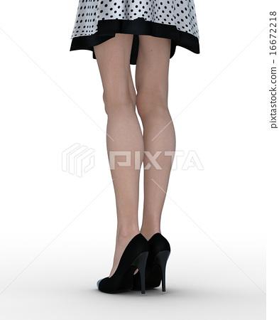 slender, leg, legs 16672218