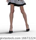 slender, foot, leg 16672224