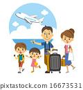 在飛機上旅行的家庭[三部曲·系列] 16673531