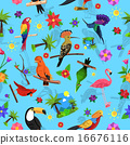 Bird Seamless Pattern 16676116