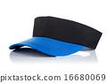 Black and blue tennis cap 16680069