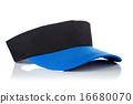 Black and blue tennis cap 16680070