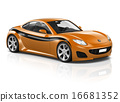 Super Car Elegant Automobile Contemporary Coupe Transportation C 16681352