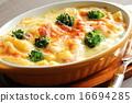 奶油烤通心粉 奶油烤菜 烤箱烹飪 16694285