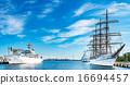 橫濱港 划船 船 16694457