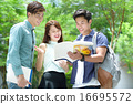 Chinese student in discussion 16695572