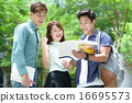 Chinese student in discussion 16695573