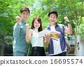 Chinese student celebrate success 16695574