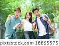 Chinese student celebrate success 16695575