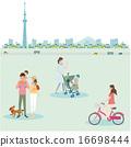 自行車例證人育兒 16698444