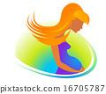 Pregnant woman 16705787