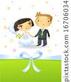 婚礼 新娘 新郎 16706034
