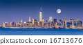 New York City Manhattan downtown skyline 16713676