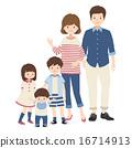 어머니와 아버지와 형제 16714913